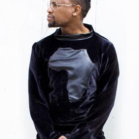 Afreedom Black Velvet Sweater